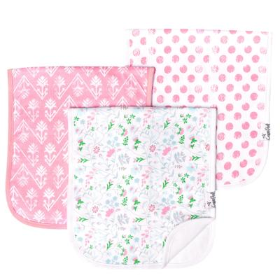 Copper Pearl Burp Cloths - 3 Pack - Variety