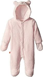 Magnetic Bears Pink Icing Fleece Hooded Pram