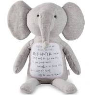 New Big Sister Plush Elephant