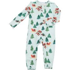 Winter Bison Evergreen Coverall