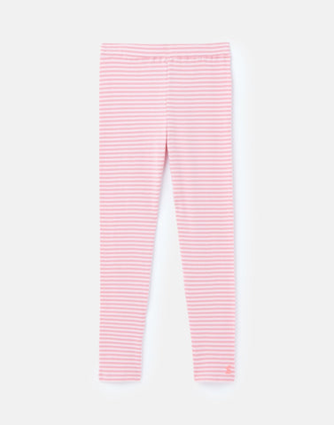Annie Ribbed Legging - Pink Stripe