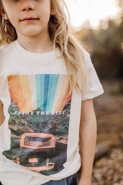 Enjoy The Ride Tee - Natural