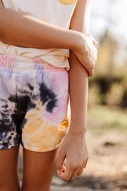 Desert Nights Dolphin Short - Tie Dye