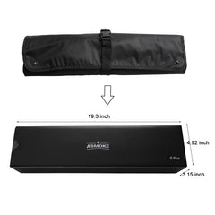 ASMOKE AS300 Portable Wood Pellet Grill and Smoker 256 SQ. IN. w/ Best Value BBQ Season Kits, Apple Red