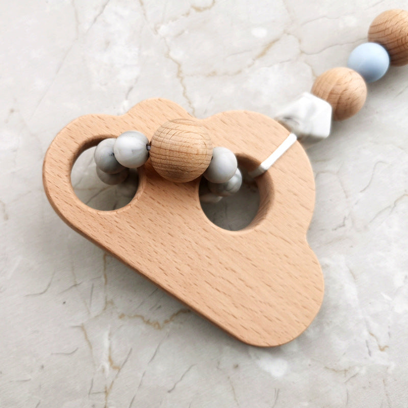wooden toys in the shape of cloud