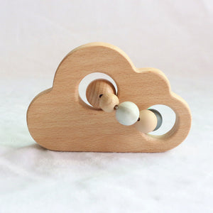 white cloud teether