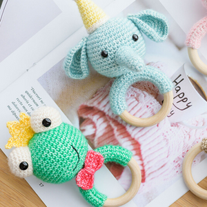 Handmade Teething Rattles