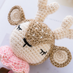 Animal Crochet Toys for Babies