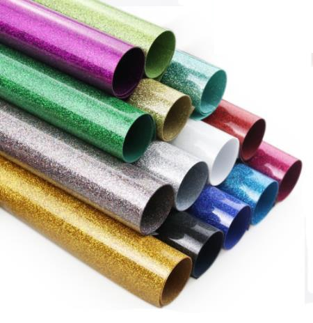 "Glitter Heat Transfer Vinyl Roll  12"" x 1yard"