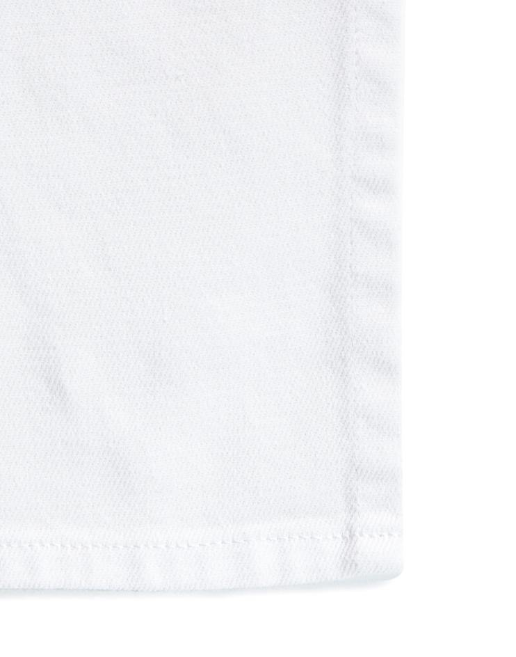 White Ankle-Length Full Bistro Apron
