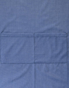 Chambray Bib Apron with Contrast Straps