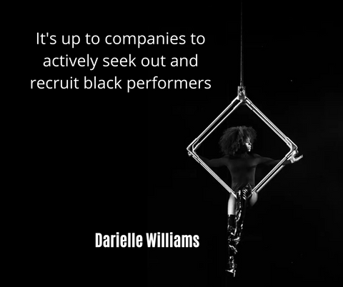 It's up to companies to actively seek out and recruit Black performers