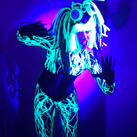 Blacklight Radioactive Dancer