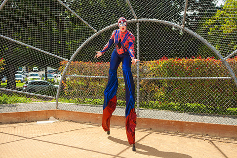 Spider Person Stilt Costume