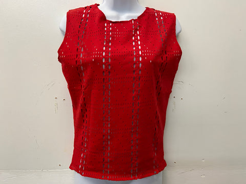 Mens Laser Cut Top