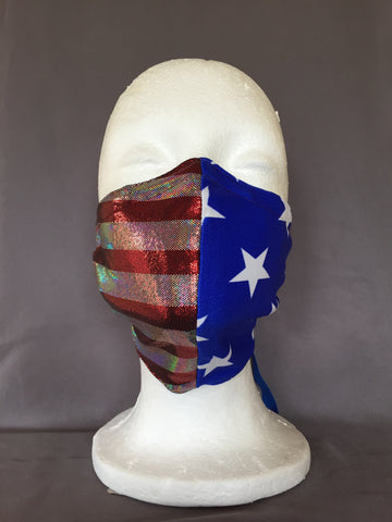Stars & Stripes Face Covering