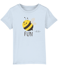 Load image into Gallery viewer, Girls Bee Fun White T-Shirt  from Pixie Girl Boutique