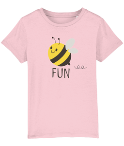 Girls Bee Fun White T-Shirt  from Pixie Girl Boutique