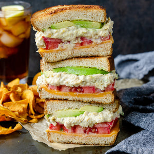 Classic Avocado Un-Tuna Sandwich