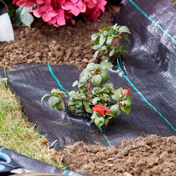 Smart Garden Products Woven Anti Weed Fabric 15 x 1 Metre