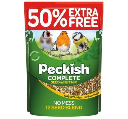Peckish Complete Seed & Nut Blend 2kg + 50% Extra Free