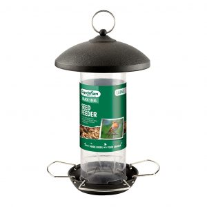 Gardman Black Steel Seed Feeder - Large