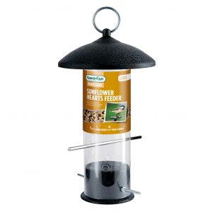 Gardman Black Steel Sunflower Hearts Feeder Large