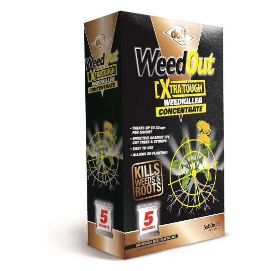 Doff® Weedout Extra Tough Weedkiller Concentrate