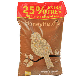 Honeyfields Won't Grow Wild Seed Mix 4kg + 25%