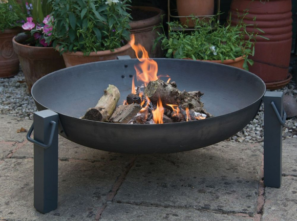 WOODLODGE 75CM CAST IRON STACKABLE FIREPIT