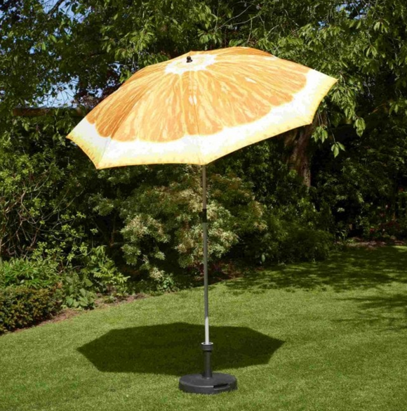 Glendale 2m Parasol Orange