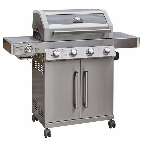 Grill Stream Gourmet Barbecue 4 burner Stainless Steel
