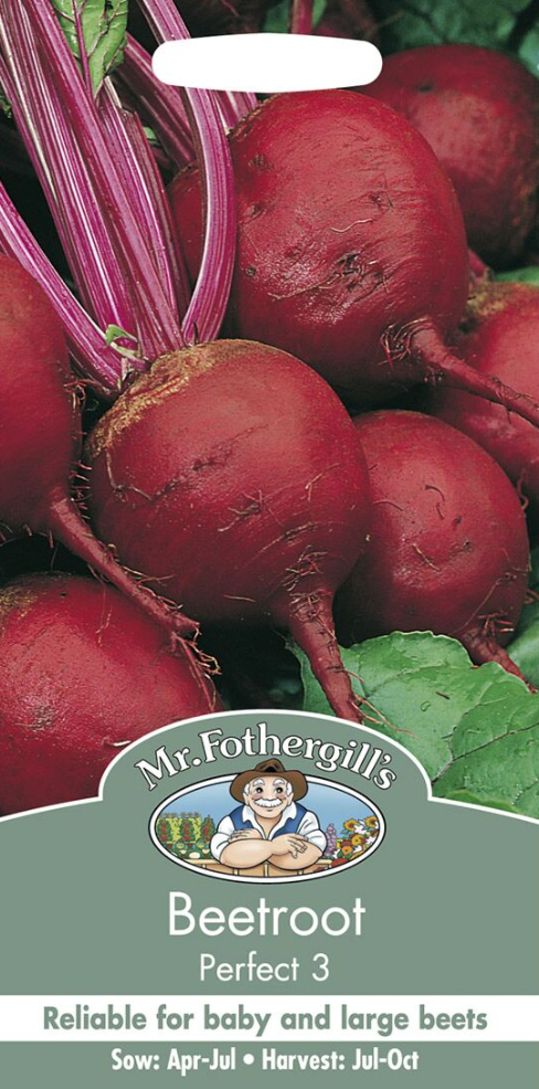 Mr Fothergills Beetroot Perfect 3 Seeds