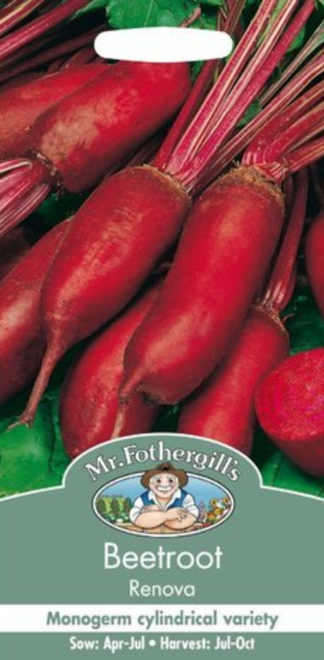 Mr Fothergills Beetroot Renova Seeds