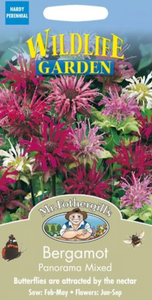 Mr Fothergills Bergamot Panorama Mixed Seeds