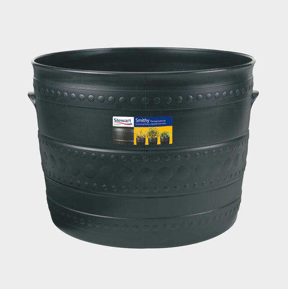 Stewart Garden 35cm Patio Tub Gun Metal