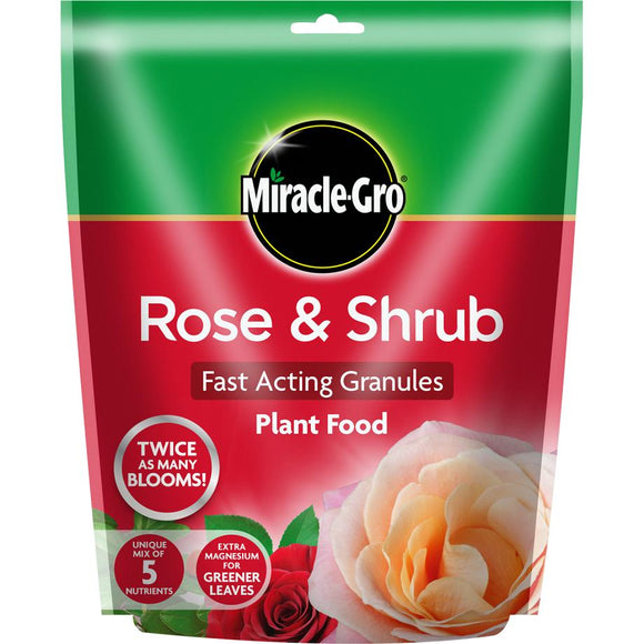 Miracle-Gro® Rose & Shrub Fast Acting Granules Plant Food