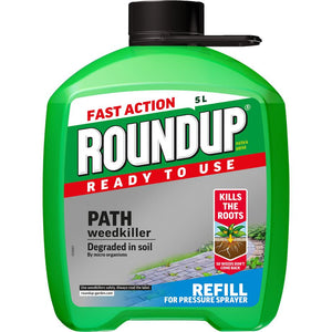Roundup® Ready to Use Path Weedkiller Pump 'n Go Refill