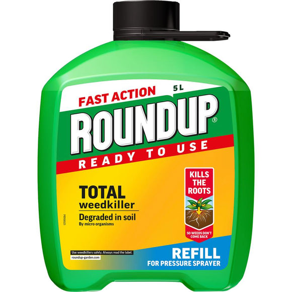 Roundup® Fast Action Ready to Use Weedkiller Pump n' Go Refill