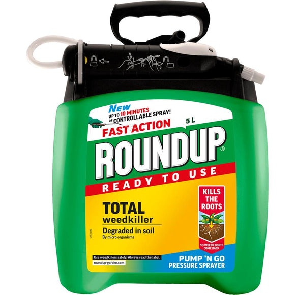 Roundup® Fast Action Ready to Use Weedkiller Pump 'n Go