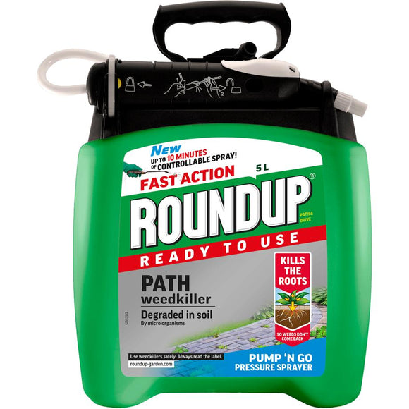 Roundup® Ready to Use Path Weedkiller Pump 'n Go