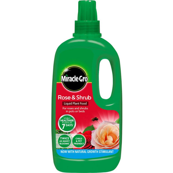 Miracle-Gro® Rose & Shrub Concentrated Liquid Plant Food