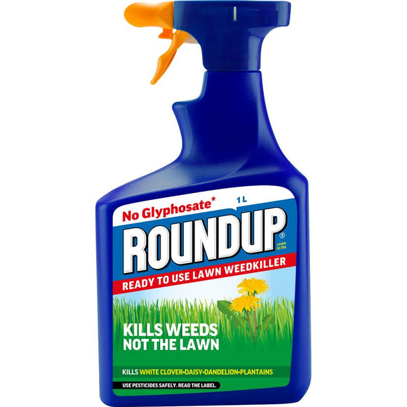 Roundup® for Lawn Ultra Ready to Use Weedkiller