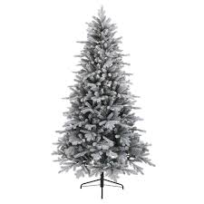 Everlands Frosted Vermont Spruce 210cm Artificial Tree