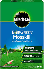 Miracle Gro Evergreen Mosskill Lawn Food & Moss Control 80m2