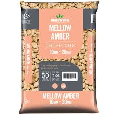 Meadowview Mellow Amber Chippings Lg