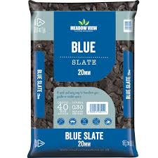 Meadowview Blue Slate Chippings 20mm Lg