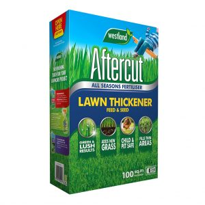 Aftercut Lawn Thickener Feed and Seed 100m2