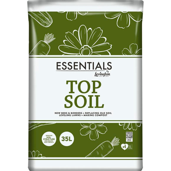 Levington Essential Top Soil 35L