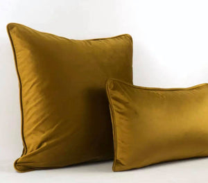 Luxury Bombay Velvet Gold Cushion - Home
